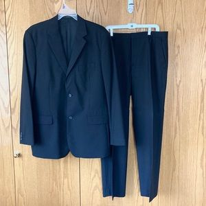 "Men's Express ""The Producer"" black suit"